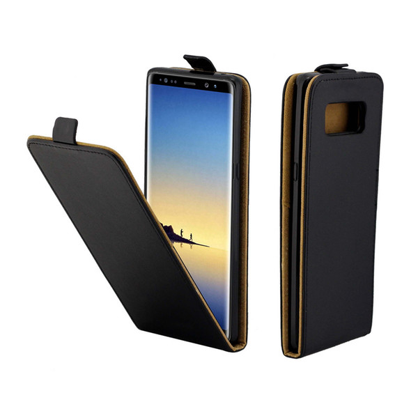 Business Leather Case For Samsung Galaxy Note 8 Vertical Flip Cover Card Slot Cases For Samsung Note 8 Phone Bags