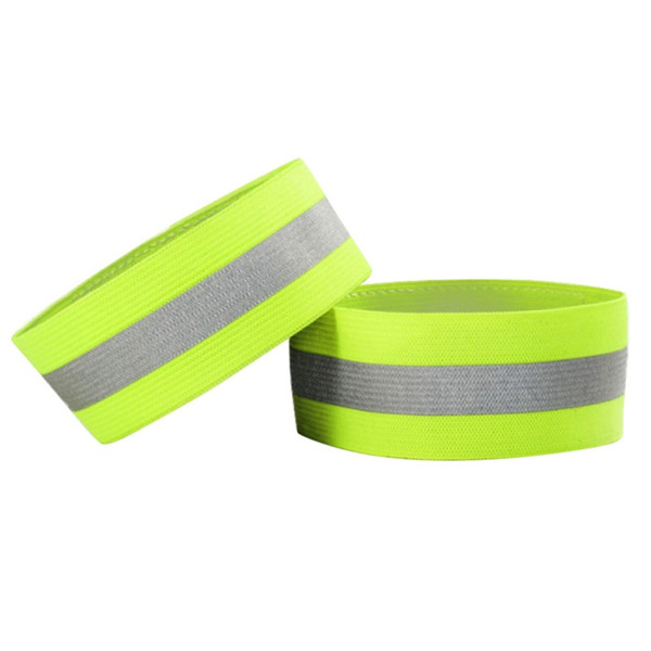 1 Pair Set Autumn Outdoor Running Night Sports Cycling Reflective Wrist Ankle Straps Emergence Safety Warning Bands