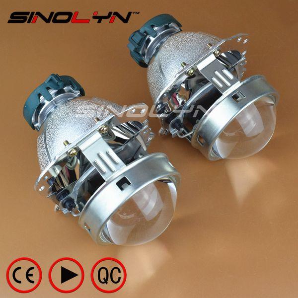 EVOX Bi-xenon Projector Lens Headlight Reflector for E60 E61 E39/ C-Max S-Max/A6 S6 A8 D3 S8 D4/ W211/B6/