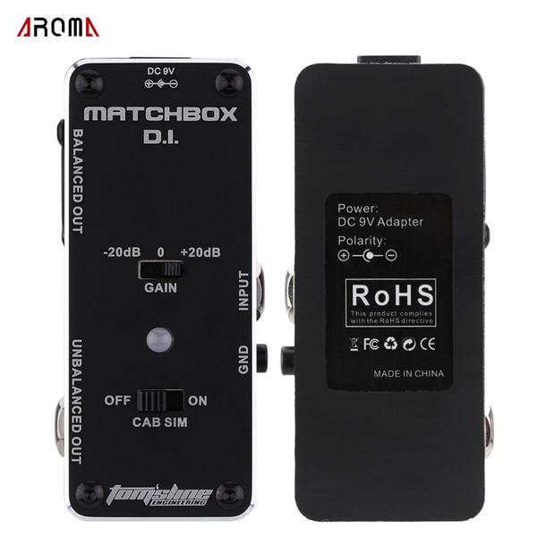 Nueva llegada! Aroma AMX-3 Matchbox d.i. Transferencia Guitarras ra Guitarras o bajo señal al sistema de audio mini efecto analógico pedal