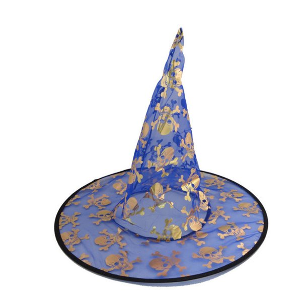 New Colorful Halloween Costumes decoration Hallowmas Party Props All Saints'Day Cool Witches Wizard Hats hat Cup factory price