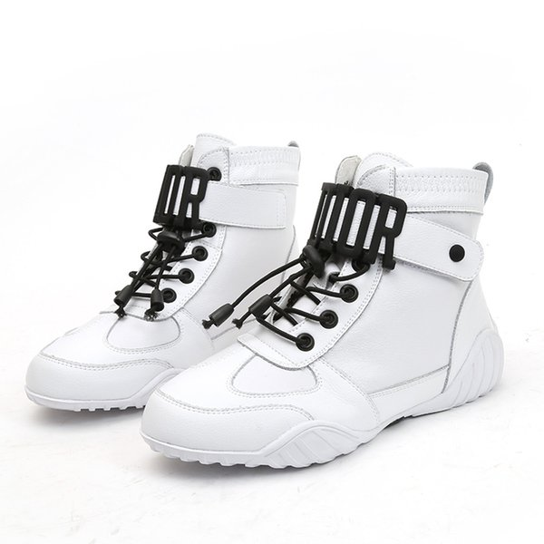 Luxury Women Winter Ankle Boots Female High-Top Sneakers High Quality Knight Boots With Platform Height Increasing Sneakers L-138