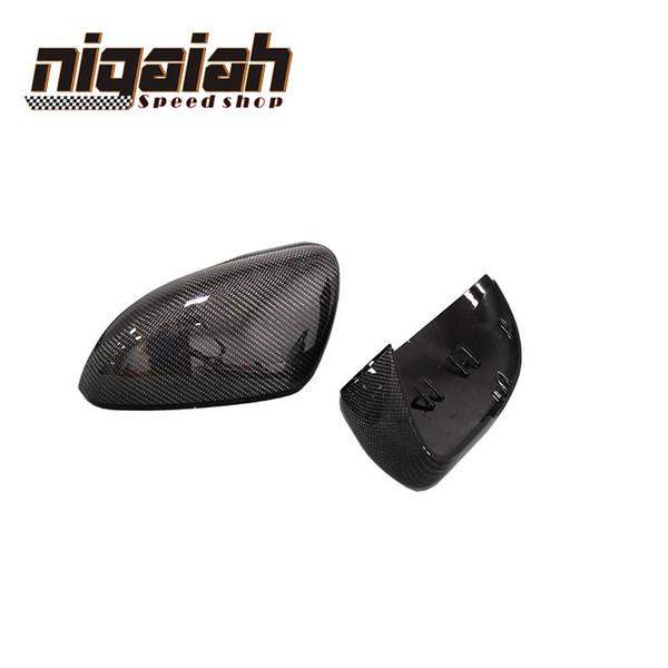 For Volkswagen VW Golf 6 7 mk6 mk7 gti r20 vw scirocco cc passat beatles carbon look side mirror cover golf6 golf 7