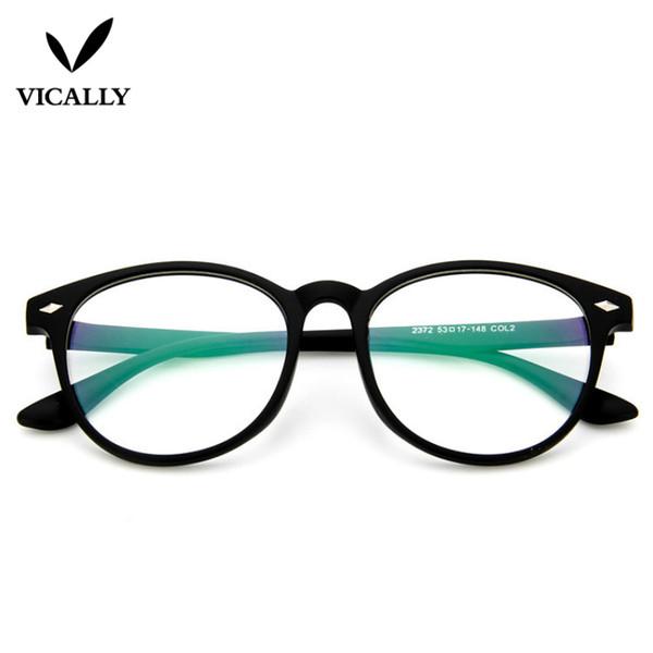 cd5a2d8a11687 Moda Óculos de Armação Homens Mulheres Retro Vintage Óptico Óculos Myopic  Computador Óculos Óculos de Leitura Quadro Oculos de grau