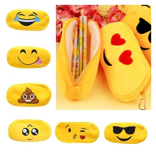 Spaß Samt Ausdruckbeutel Bleistift Stift Fall Make-Up Reise Lagerung Schöne Tasche Beste Geschenk Für Studenten WJ032
