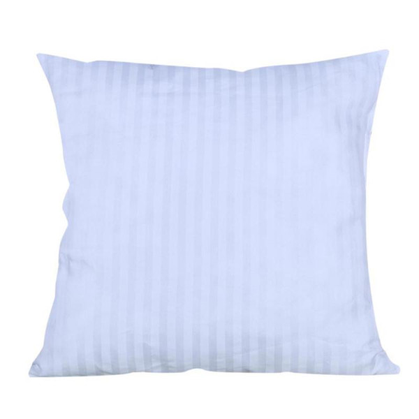 White Cushion Insert Soft Striped Cloth Pillow Inner for Car Chair Throw Pillow Core Inner Seat Cushion Filling Sizes E5M1