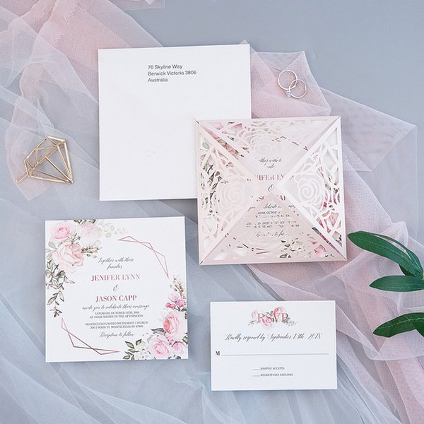 Color: Kit de tarjetas de RSVP