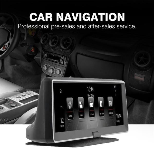 7.84 pulgadas Quad Core Car Radio GPS de navegación con pantalla capacitiva Bluetooth estéreo WIFI pantalla táctil para Android 5.0