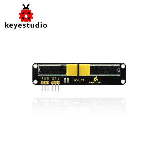 Electronic Block 10K Sliding Slider Potentiometer Module For Arduino MCU ARM