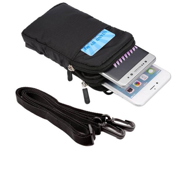 Universal-Multifunktions-Gürtelclip Sporttasche Tasche für scharfe Aquos D10 / Sinn SH-01K / Sinn SHV40 / Ever SH-02J / Sinn Plus / S2 / R / P1 / Xx3