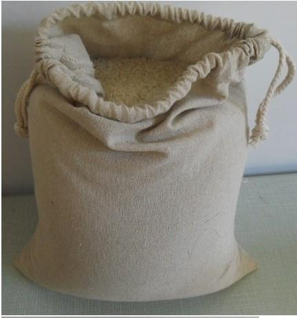 """Cotton Linen Packaging Storage Bags 30x40cm(12""""x16"""") Tea Coffee Nut Food Jewelry Box Drawstring Gift Pouch"""