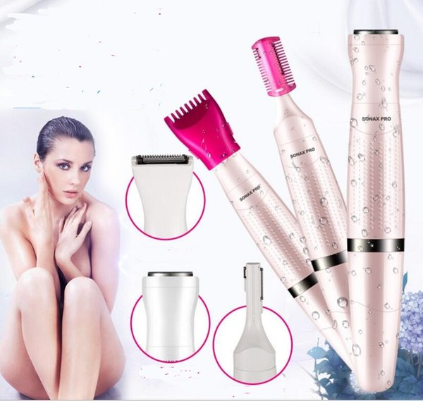 All in One trimmer Electric woman grooming kit clipper shaver bikini body face underarm hair remover cutting haircut lady epilator razor