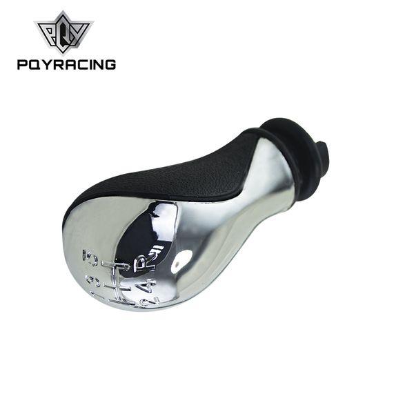 PQY RACING - Perilla de cambio de marchas manual de 5 velocidades del vehículo automático para PEUGEOT C2 106 107 PQY-GSK98