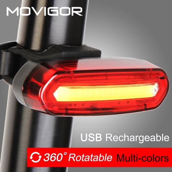 120Lumens USB Rechargeable Bicycle Rear Light Cycling LED Taillight Waterproof MTB Road Bike Tail Light Back Lamp for Bicycle C18110701