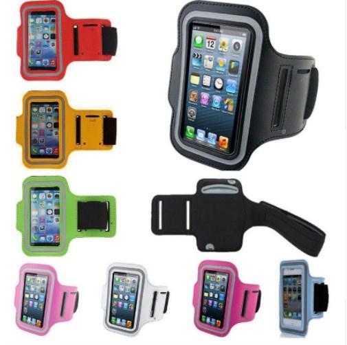 Su geçirmez Spor Koşu Kol Bandı Kılıfı Egzersiz Kol Bandı Tutucu Pounch Cep Cep Telefonu Kol Çantası Band Iphone X 8 Artı
