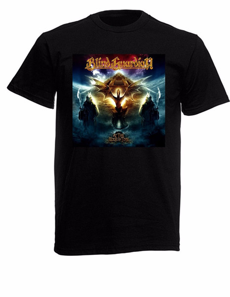 Graphic T Shirts Blind Guardian Short Sleeve Men Fashion 2018 Crew Neck Tee Shirts