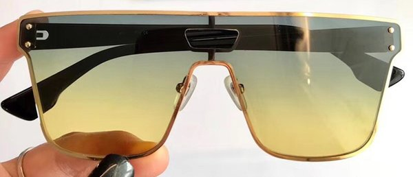 8e2f844e64f8c Nouvelle marque de mode lunettes de soleil cadre carré noir avec des hommes  en métal or lunettes de soleil style rétro style lunettes de soleil anti-UV  avec ...