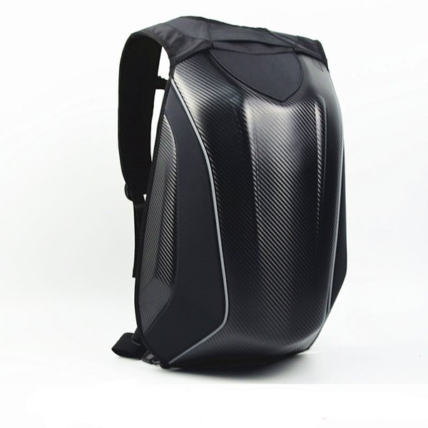 f332ab55 Dain Moto Bolsa Moto Impermeable Cáscara Dura Moto Tronco Mochila Para ogio  Multifunción Ordenador Bolsa de