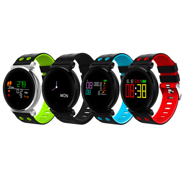 New K2 4.0 Chip Sleep / Heart Rate / Blood Pressure Blood Oxygen Calories Monitor Remote Camera Smart Watch