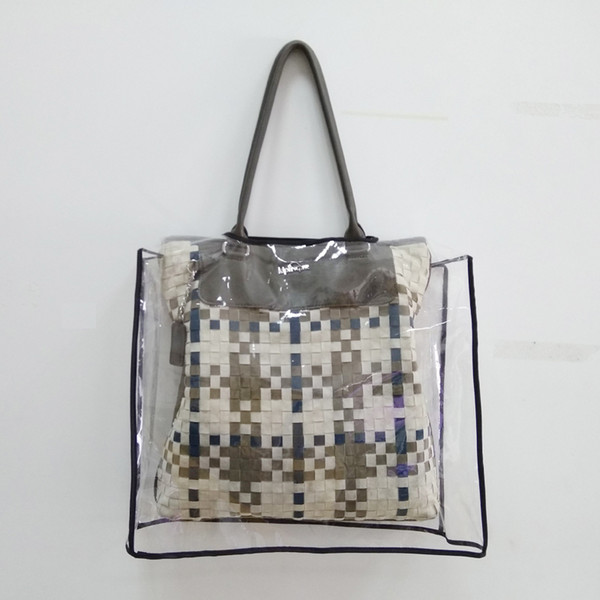 top popular Yuding Bags Rain Cover Rain Protector EVA Handbag Purse Waterproof Covers 2 Size Transparent Plastic&EVA Dust Covers 2019