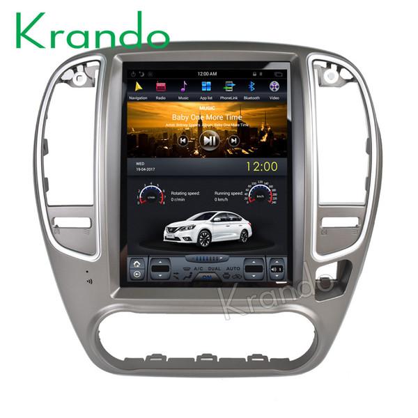 "Krando Android 7.1 10.4"" Tesla Vertical screen car dvd audio radio for Nissan Sylphy 2005-2010 gps multimedia navigation wifi 3G"