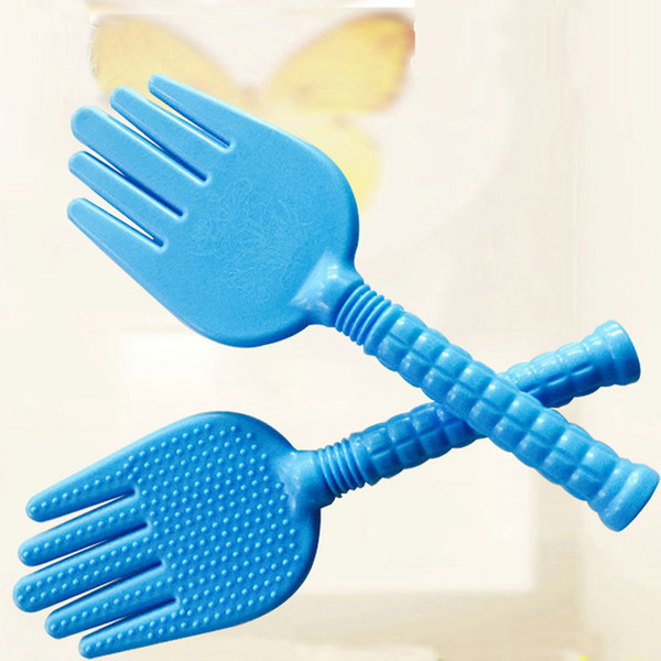 Home SPA Use Health Care Silicone Body Massage Tool Device Hand Shape Multi-function Meridian Massage Bat