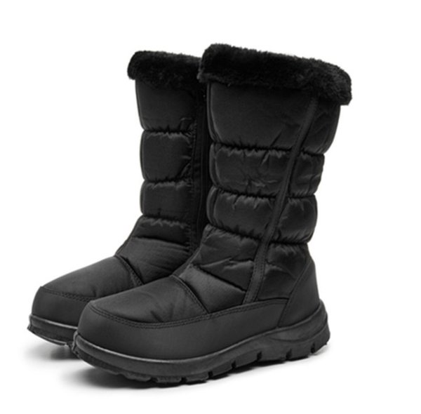 Outdoor activities New snow boots women's shoes cotton shoes warm casual snow boots Thick-base comfort Antiskid safety