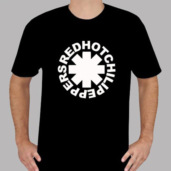New Red Hot Chili Peppers RHCP Rock Band Logo Men's Black T-Shirt Size S to 3XL Funny free shipping Unisex Casual gift