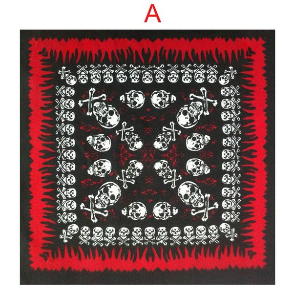 1 Pcs New Arrival Bandana Head Wrap Cotton Blend Casual Unisex Neck Scarf Hip-hop Wristband Handkerchief One Size 55*55cm