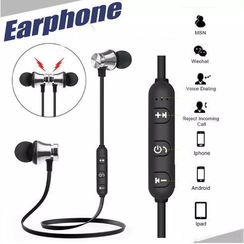 XT11 Wireless Bluetooth headphones Sports In-Ear BT 4.2 Stereo Magnetic earphone headset earbud with MIc for Mobile phone