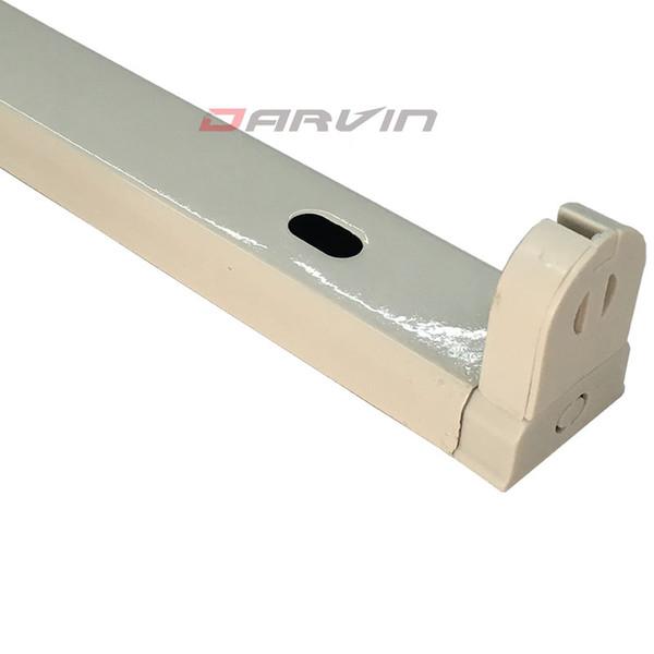 T8 Fixation 4ft 1200mm led tube Support Intégré Support Fixation Fer Double Extrémités Livraison gratuite