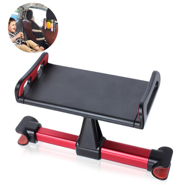Soportes para teléfonos celulares para automóviles Asiento para silla de vehículo automático Respaldo para la cabeza Soporte para teléfono inteligente Soporte para iPad Soporte de mesa ajustable giratorio