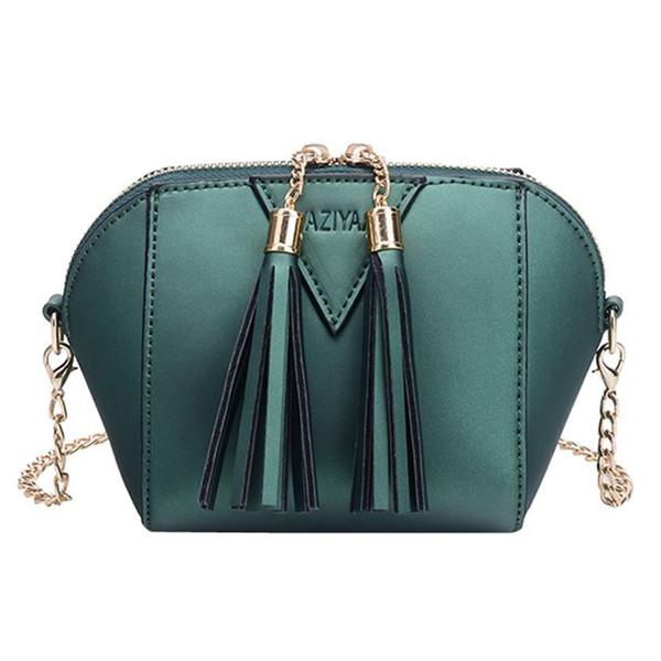 bolsas para Las Mujeres nuevo Bolso de la Moda Borla Bolso de Hombro Pequeño Bolso de Las Señoras monedero mini Crossbody bolsos mujer de marca famosa # 75