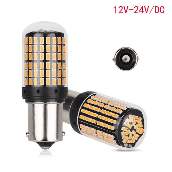 2 PZ di Car Light Signal Lamp 1156 BA15s CANBUS Led Disabilita luce fanale posteriore Lampada 144SMD 3014 LED Auto retromarcia lampadina inversa w5w