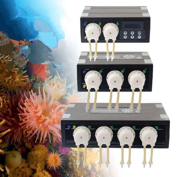 best selling DP2 DP3 DP4 DP-2 DP-3 DP-4 DP3S DP4S DP-3S DP-4S Auto Dosing Pump -Automatic Doser for Marine Reef Aquarium