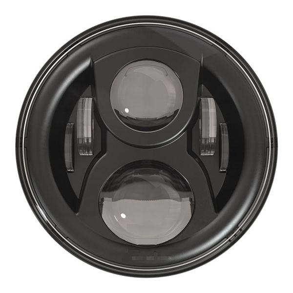 "High Quality LED Halo Headlights Kit 7"" Headlight H4 Hi/low Auto Headlight Headlamp For Jeeep Wrangler JK TJ Hummerr Harley moto"