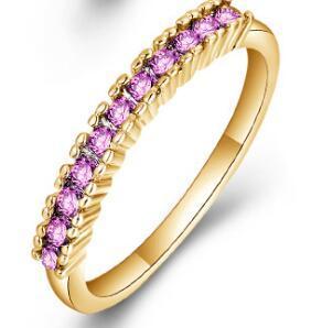 Золото Розовый кристалл