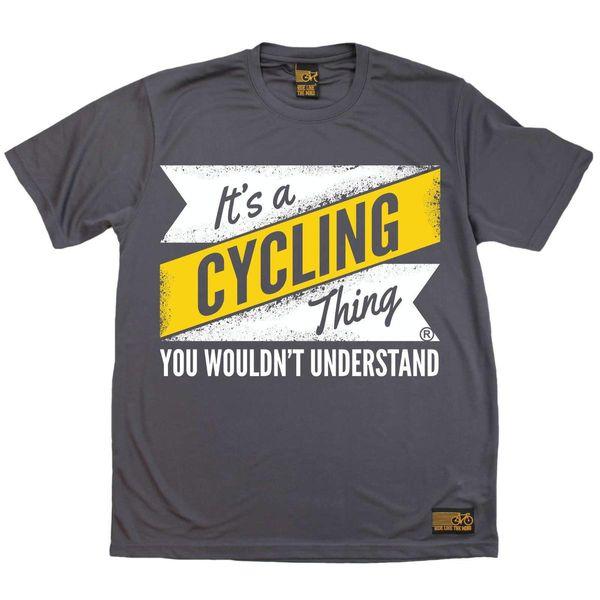 Ciclismo É Uma Coisa De Ciclismo Respirável top T-SHIRT DRY FIT T-SHIRT