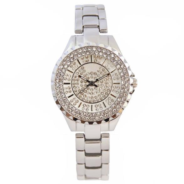 Bs lujo de diamantes lleno de pantalla de visualización de las mujeres reloj cusual negocios relojes de cuarzo relogio vers montre reloj de pulsera de abeja de londres