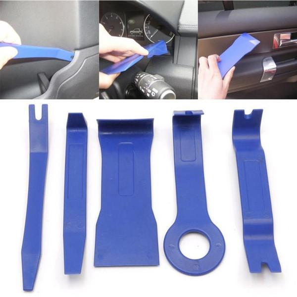 Auto-styling multi-funzionale 5pcs Auto Car Radio CD player strumenti di smantellamento macchina di navigazione DVD Audio Removal Installer Pr
