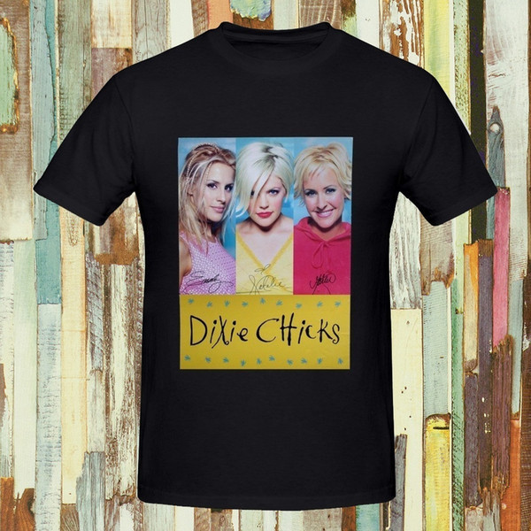 Printed Tee Shirts Top O-Neck Short-Sleeve Simple Style Dixie Chicks Men's T-Shirt Summer Fashion Cotton Tshirt T Shirt For Men