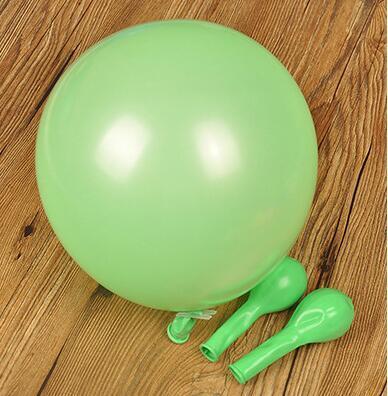 녹색 ballon