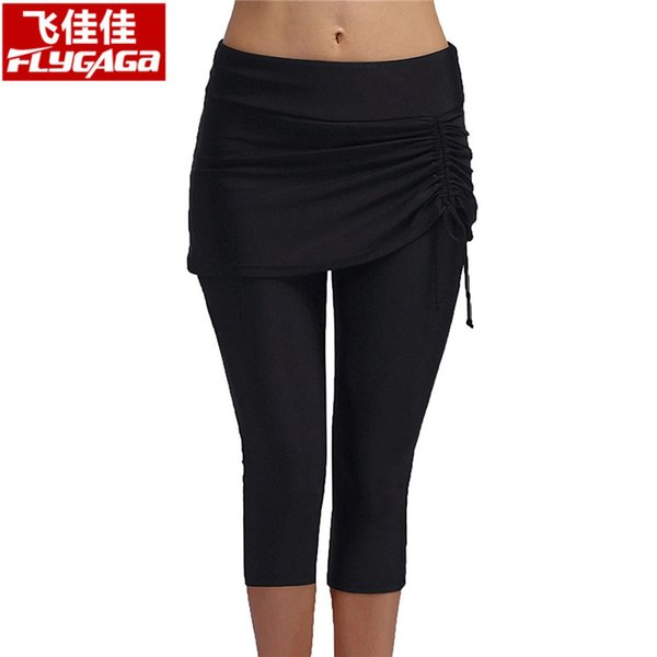 los angeles 2019 authentic wide selection of designs 2019 Summer Swimwear Women Bikini Bottoms Capris Swim Pants Sun Protection  Swimsuit Women Tights Plus Size Swimming Surfing Pants From Vikey16, $39.9  ...