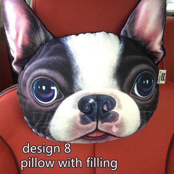 conception 8 oreiller avec remplissage
