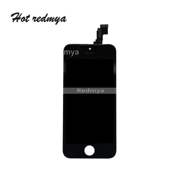 10Pcs/lot For iPhone 5 5C LCD Display Touch Complete Screen Digitizer Replacement Parts Assembly Black White Free DHL Shipping