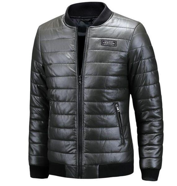 Hot summer 2018 winter men's warm fur coats cross-border for PU large size leather coats