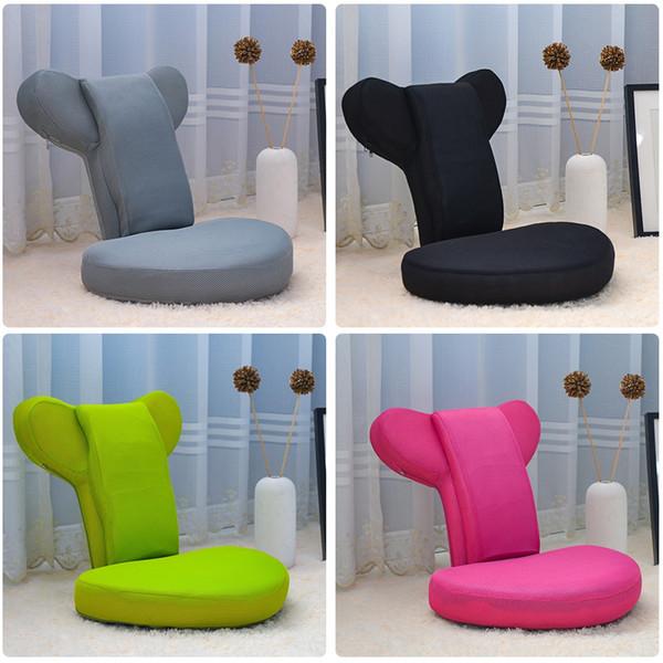 Adjustable Lazy Sofa Folding Game Chair High-Elasticity Sponge Living Room Furnit Foldable Floor Chair Adjustable Relaxing Lazy Sofa Seat NB