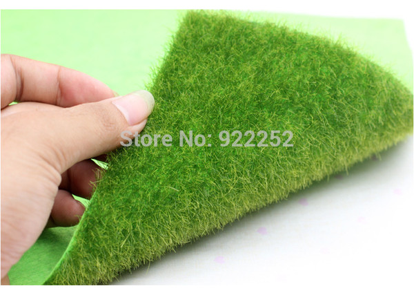 Patio 30 *30cm /Piece ,High Quality Artificial Plastic Plant Small Moss Lawns ,Fake Grass Carpet ,Christmas Miniature Garden