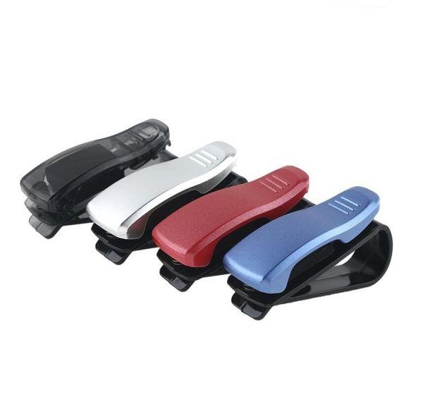 Auto Fahrzeug Zubehör Sonnenblende Sonnenbrille Brillen Karte Stifthalter Clip Portable Clip Ticket Halter Stand Auto Zubehör HHA48