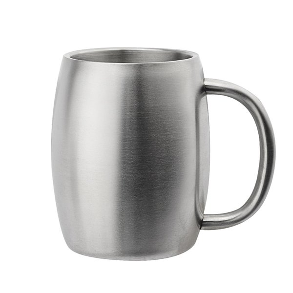 Stainless Steel Mug Coffee Beer Cup Double Wall Water Mug Traveling Outdoor Camping Sports Mugs For Home Bar